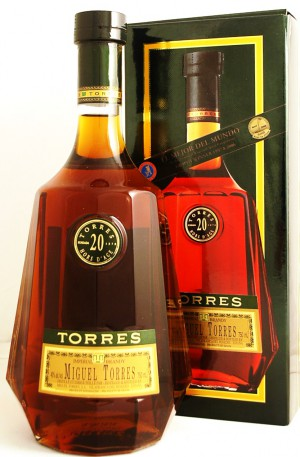 Torres Brandy 20 years 40° 70cl