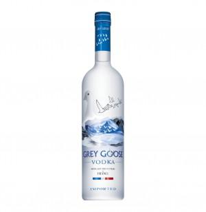 Grey Goose Vodka box +2 glazen 70cl