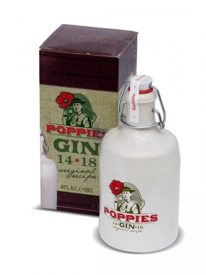 Poppies Gin 1418 40° 50cl