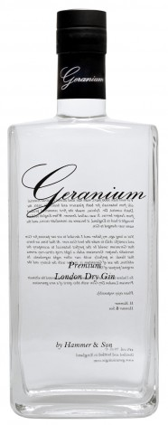 Geranium London dry Gin 44° 70cl