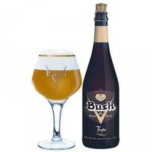 Bush Blond Triple 6x75cl