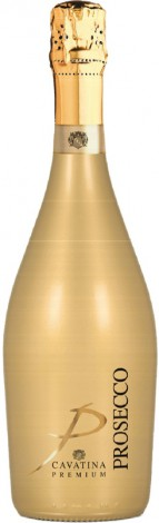 Prosecco Cavatina Gold bottle 75cl