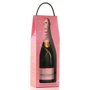 Moet & Chandon  Rosé Love Bag 75cl