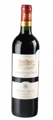 Chat Tour D'Auron bordeaux rouge '11 75c