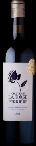 Chat La Rose Perruchon Lussac '11 75cl