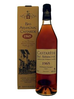 Armagnac Castarède 1965 40° 50cl