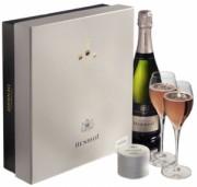 Henriot champagne rose Perle Swarovski 75cl