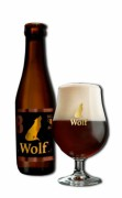 Wolf 8° bruin 24x33cl
