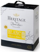 Heritage Baron Louis blanc bib 3L