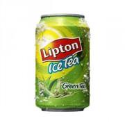 Lipton Ice Tea green/zero sugar blik 6x33cl