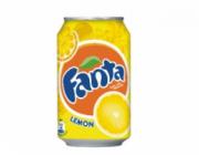Fanta lemon blik 24x33cl