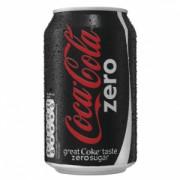 COCA COLA ZERO BLIK 24X33CL