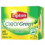 Thee Green tea citrus zakjes 100 stuks