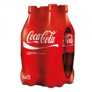 Coca Cola Light pet 4x1L + zero