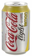 COCA COLA LIGHT LEMON BLIK 24X33CL