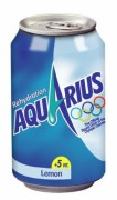 AQUARIUS LEMON BLIK 24X33CL