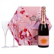 Veuve Clicquot Rosé Shakkei Box 75cl +2g