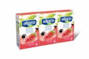 Alpro Soya rode vruchten 9x3x25cl